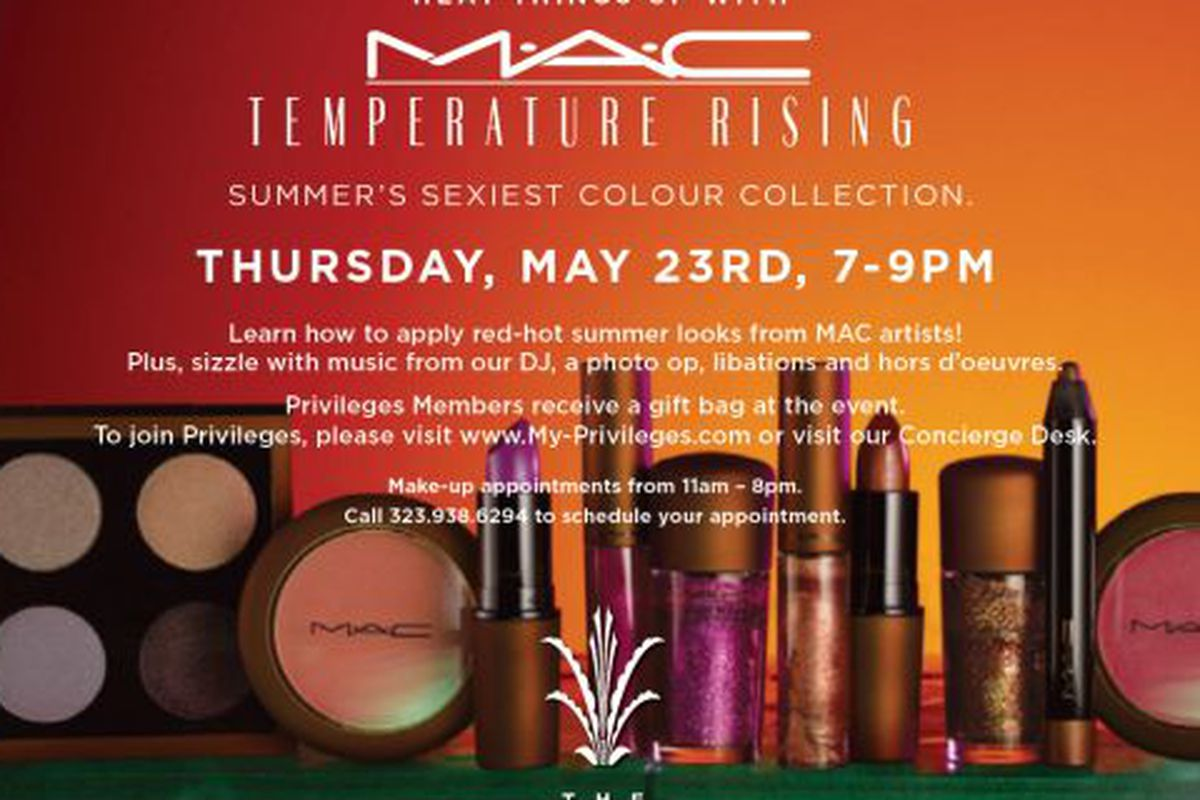 Mac makeup appointments