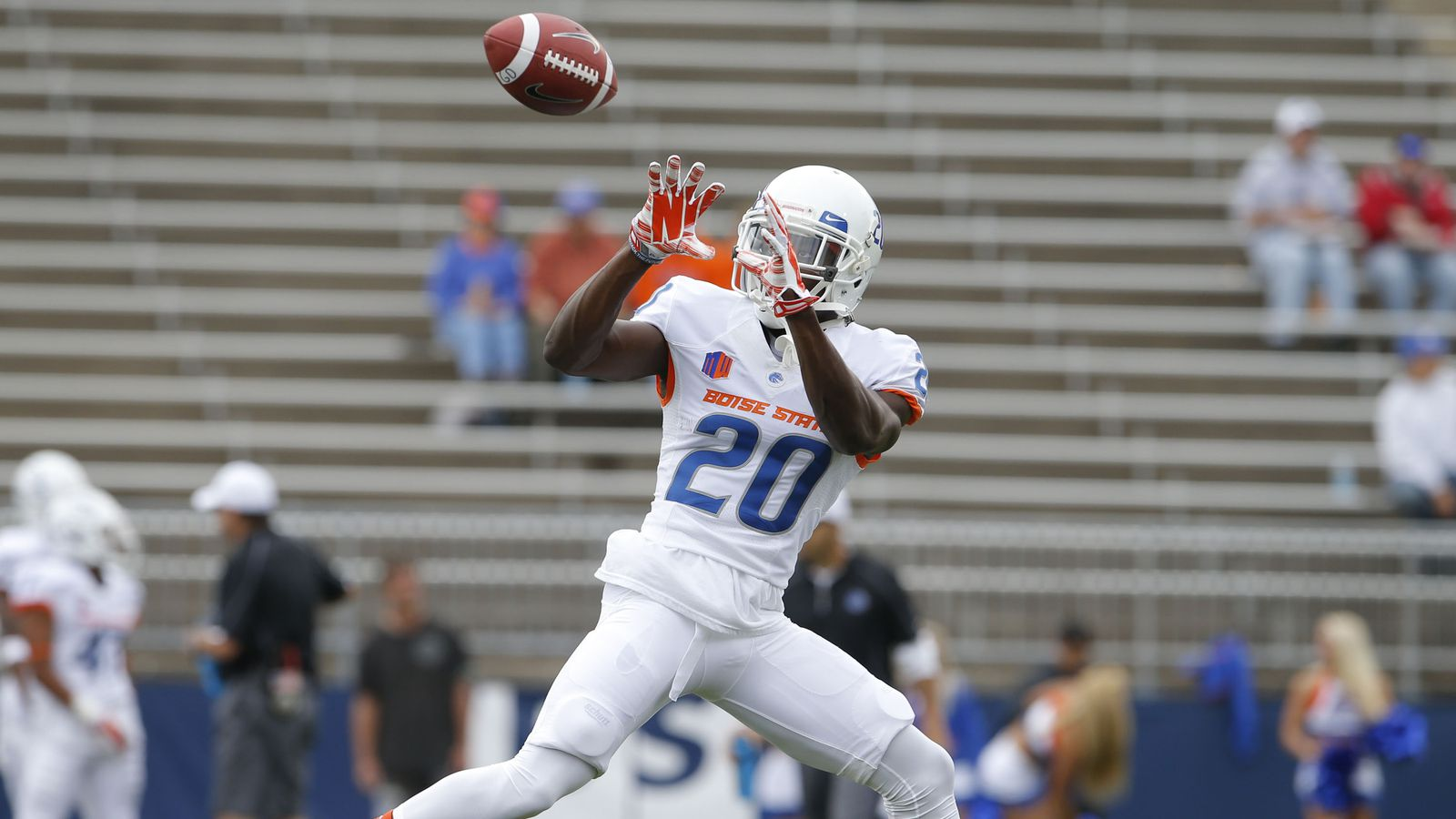 Boise State Numerical Roster Countdown  Terrell Johnson One Bronco Nation Under God