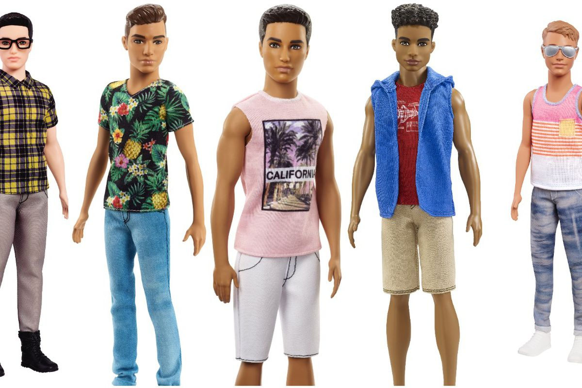 Mattel S New Ken Doll Line Features Barbie Iconic Boyfriend In Diffe Shapes Colors And Hair Styles