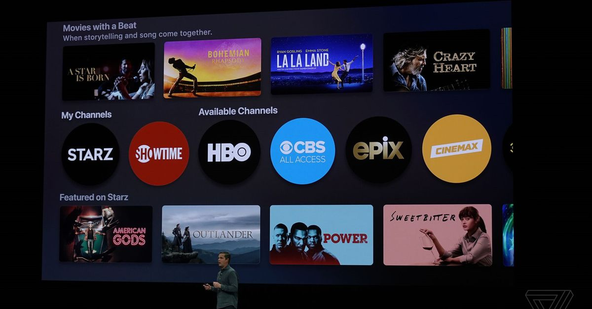 Techmeme: Apple announces Apple TV Channels, an on-demand