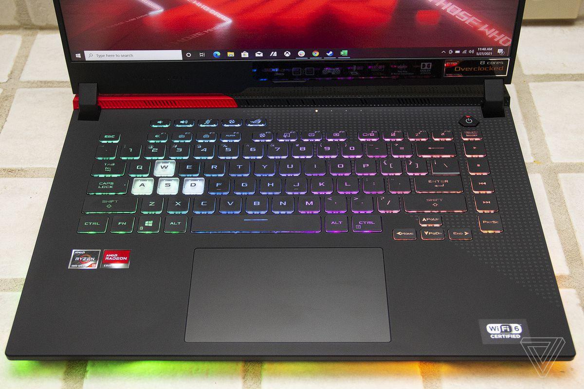 Best gaming laptop 2021: Asus ROG Strix G15 Advantage Edition