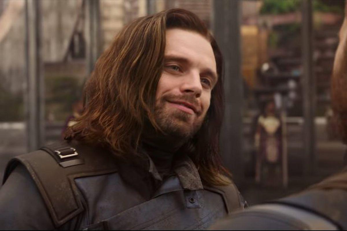 Bucky Barnes in Wakanda in Avengers: Infinity War
