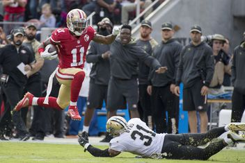 new orleans saints vs san francisco 49ers game coverage