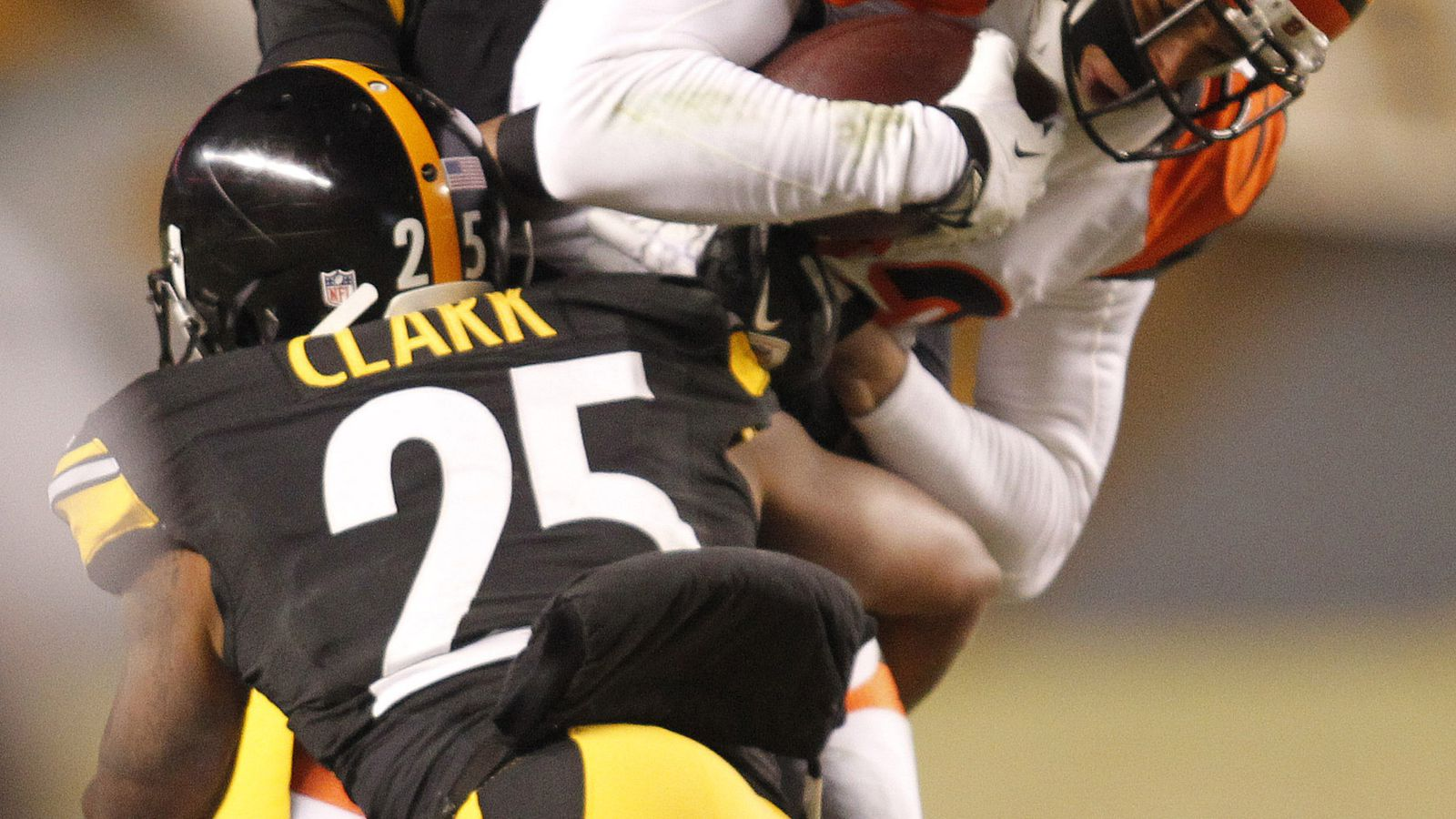 Behind the steel curtain steelers