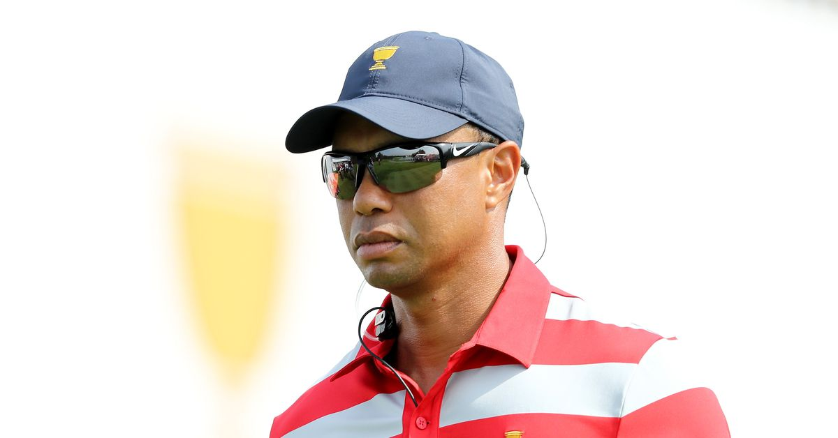 Tiger Woods hints he'll be a playing captain at 2019 Presidents Cup