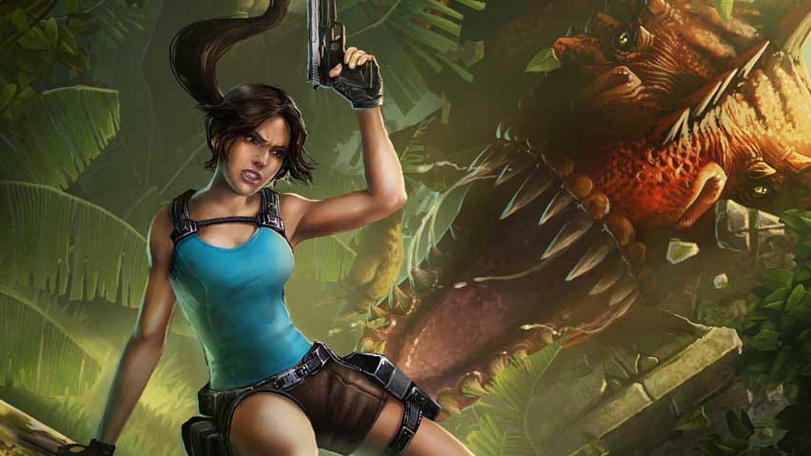 Free dowland lara croft go erotic pic