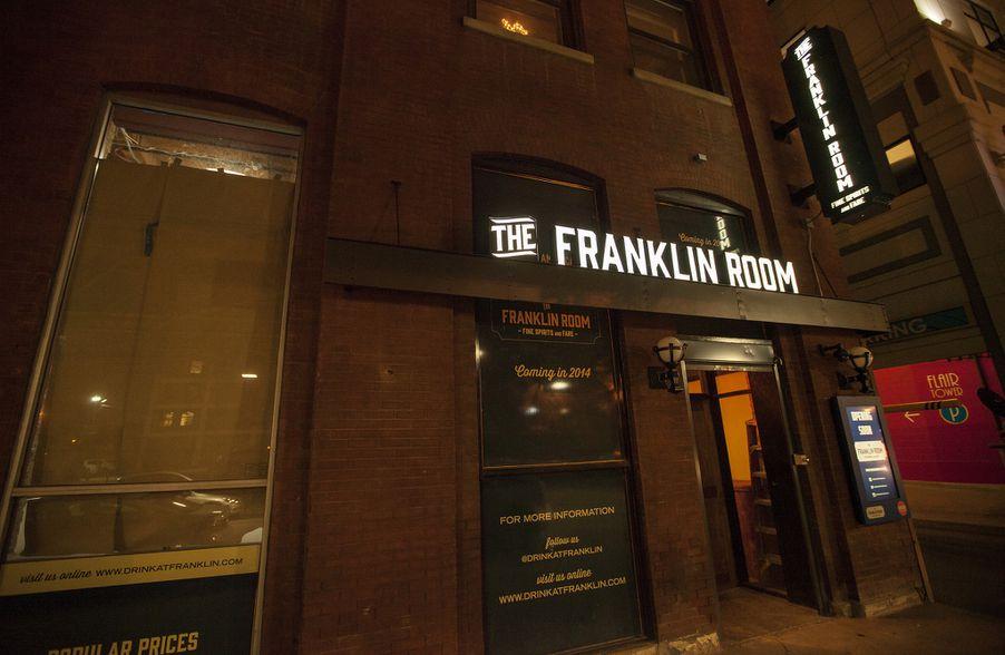 Franklin room wedding