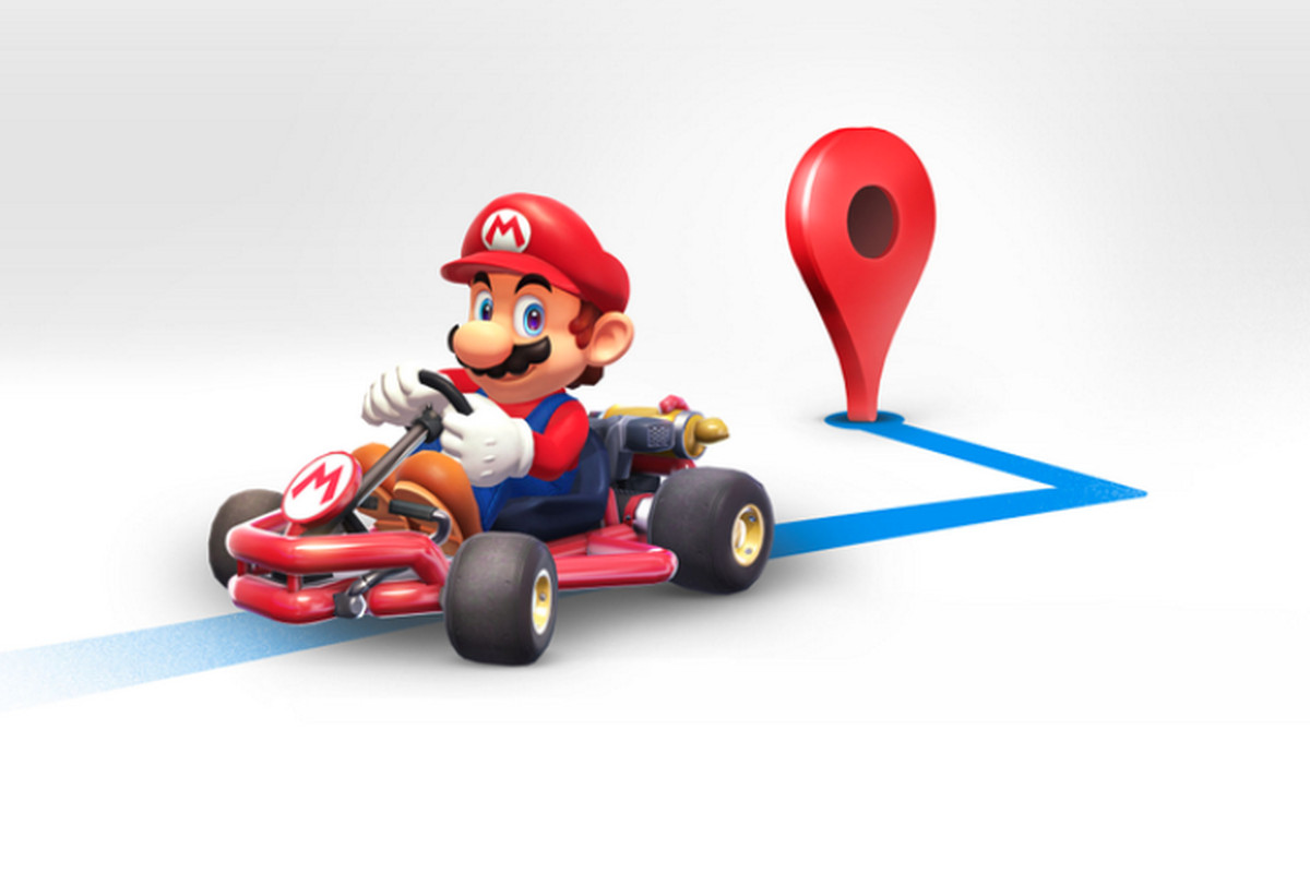 Mario Karts Driving Through Google Maps For The Next Week