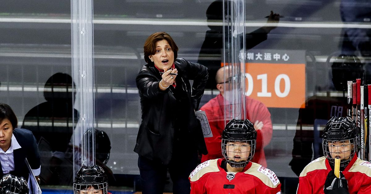 China is building a women's hockey team from scratch. It wants an Olympic medal by 2022.