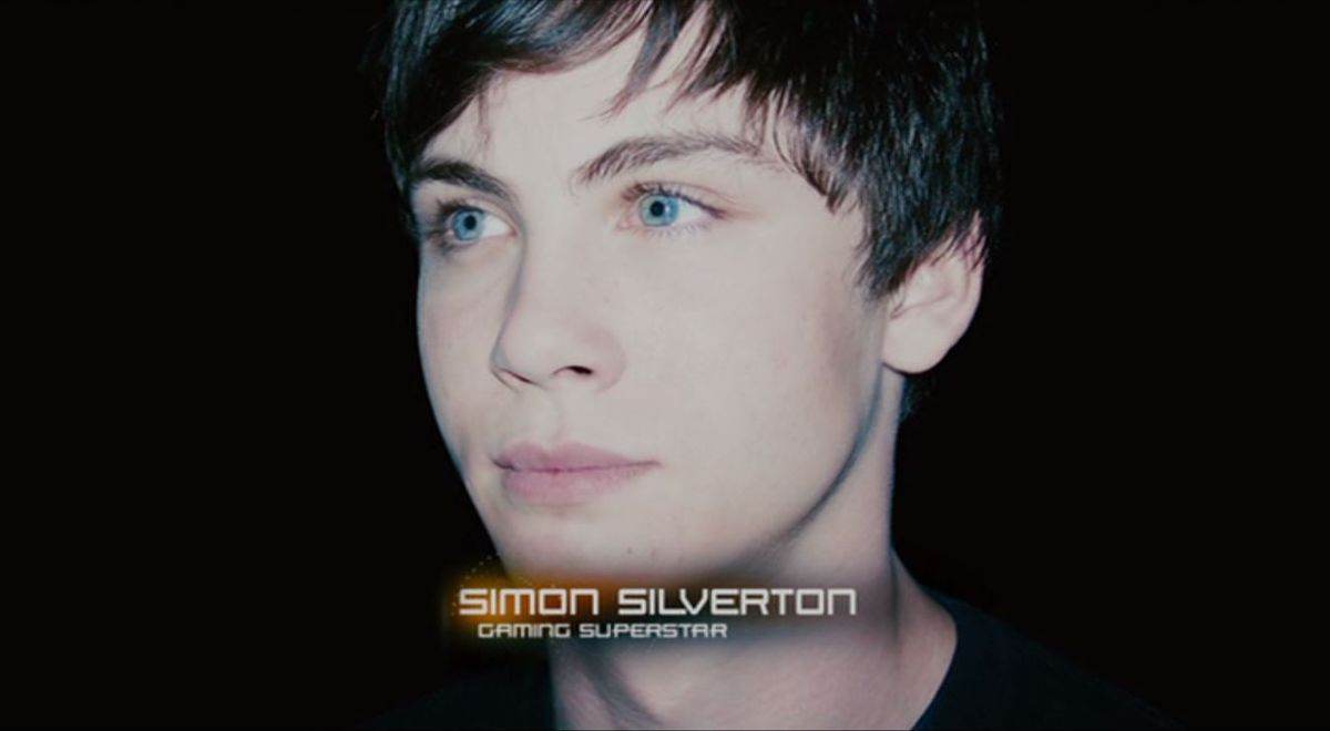 Logan Lerman as Simon in Gamer