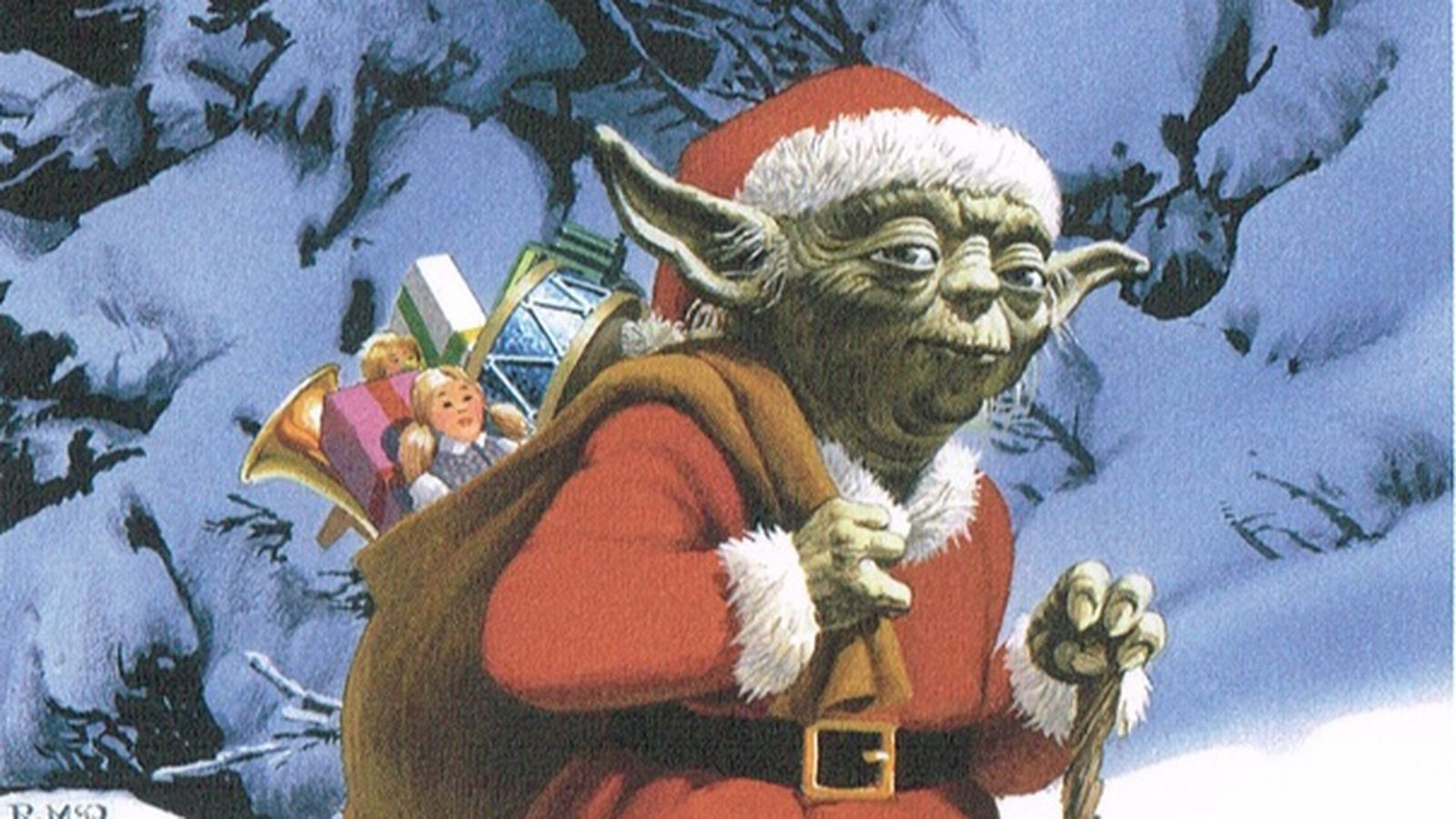 Happy Holidays Young Jedi From Lucasfilm Polygon