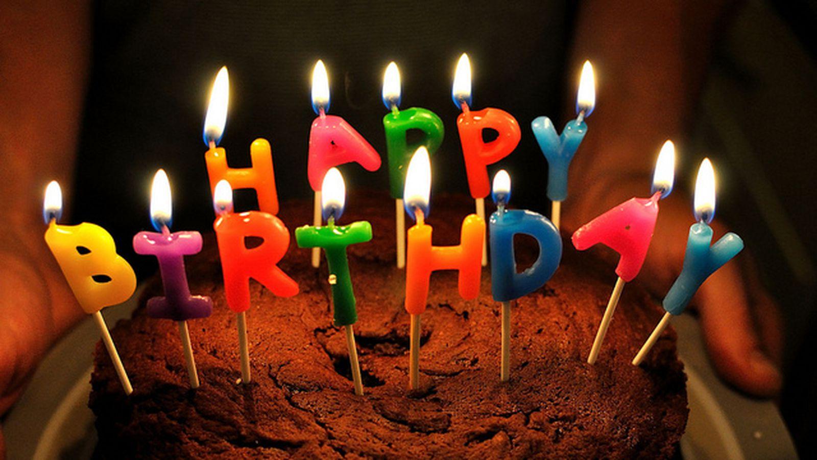 Молодёжное поздравление на день рождения