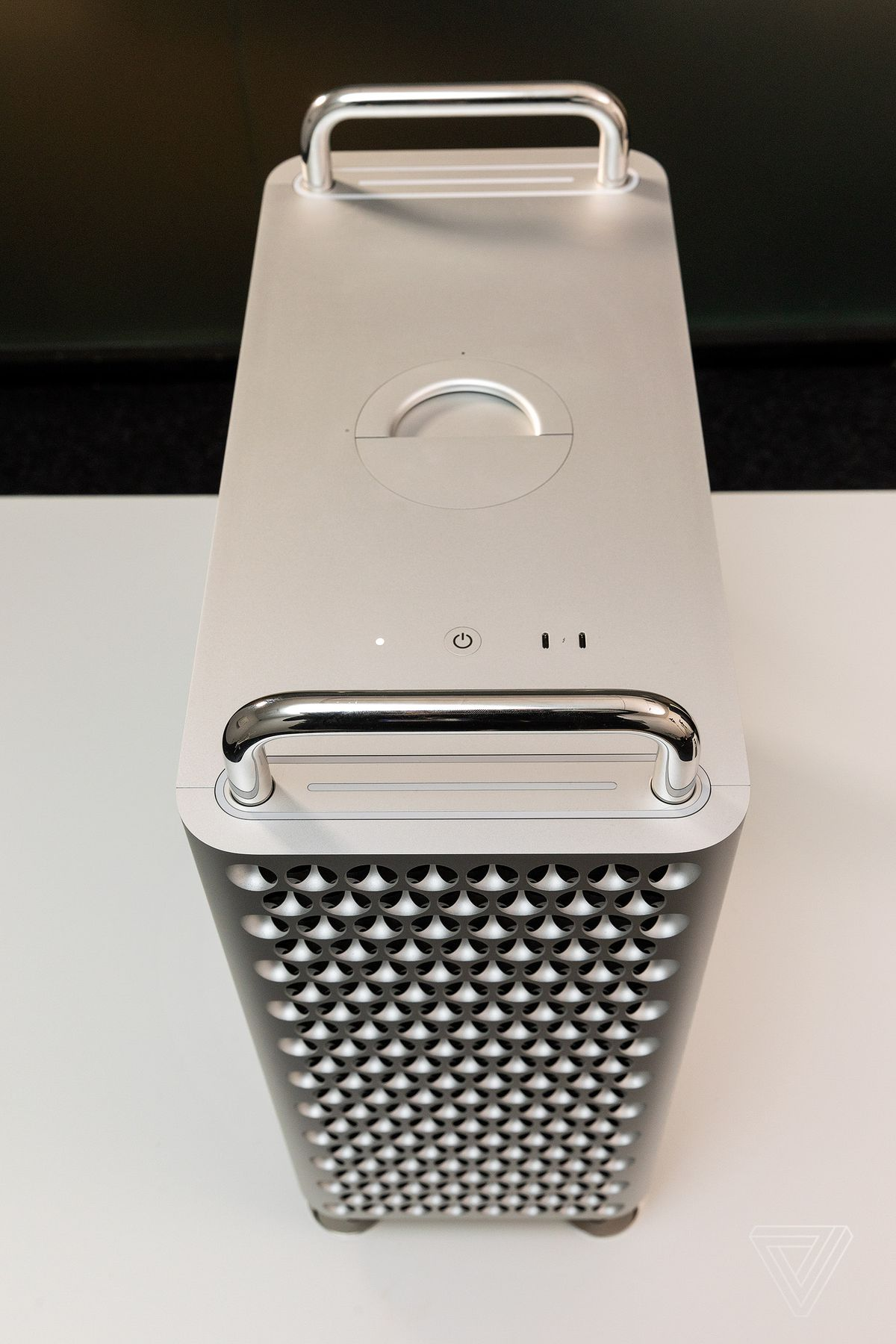 Top of the Mac Pro