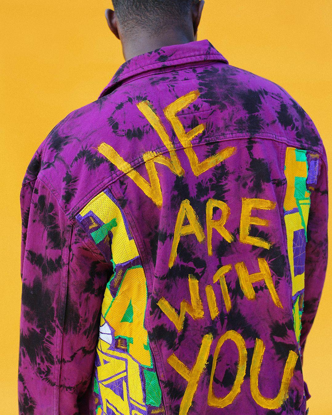 A jacket design from Lorne Sleem.