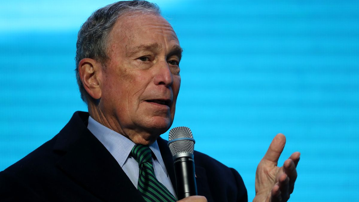 Democratic Presidential Candidate Mike Bloomberg Speaks On Climate Change At The American Geophysical Union Conference