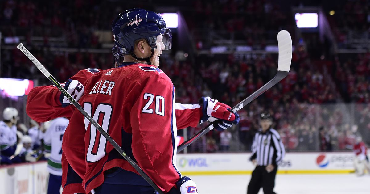 Capitals sign Lars Eller to 5-year, $17.5 million contract extension
