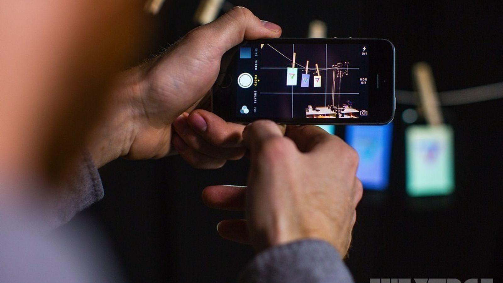 Как делать красивый фото на iphone