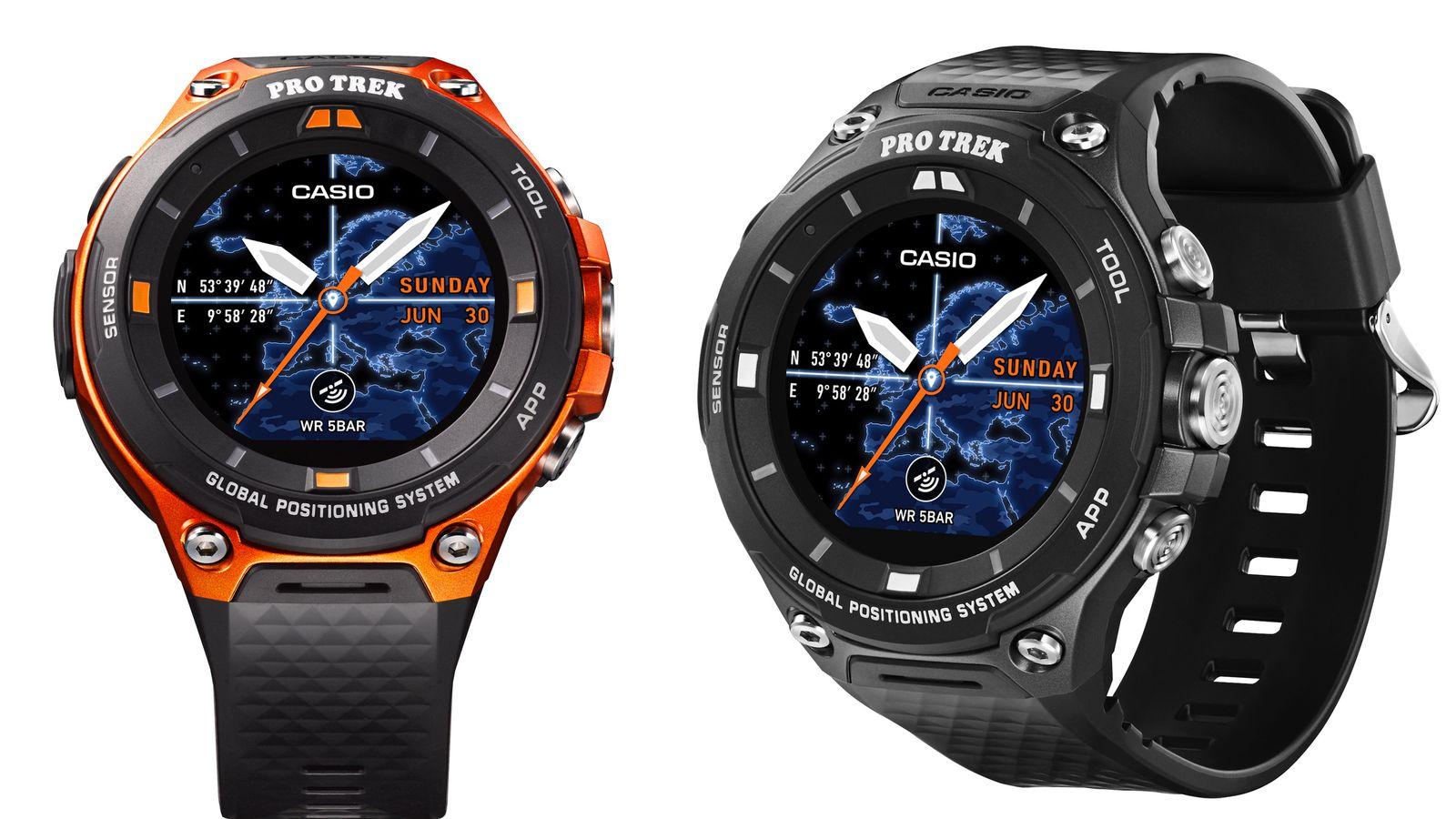 Casios New Outdoor Smartwatch Adds Gps Offline Maps And