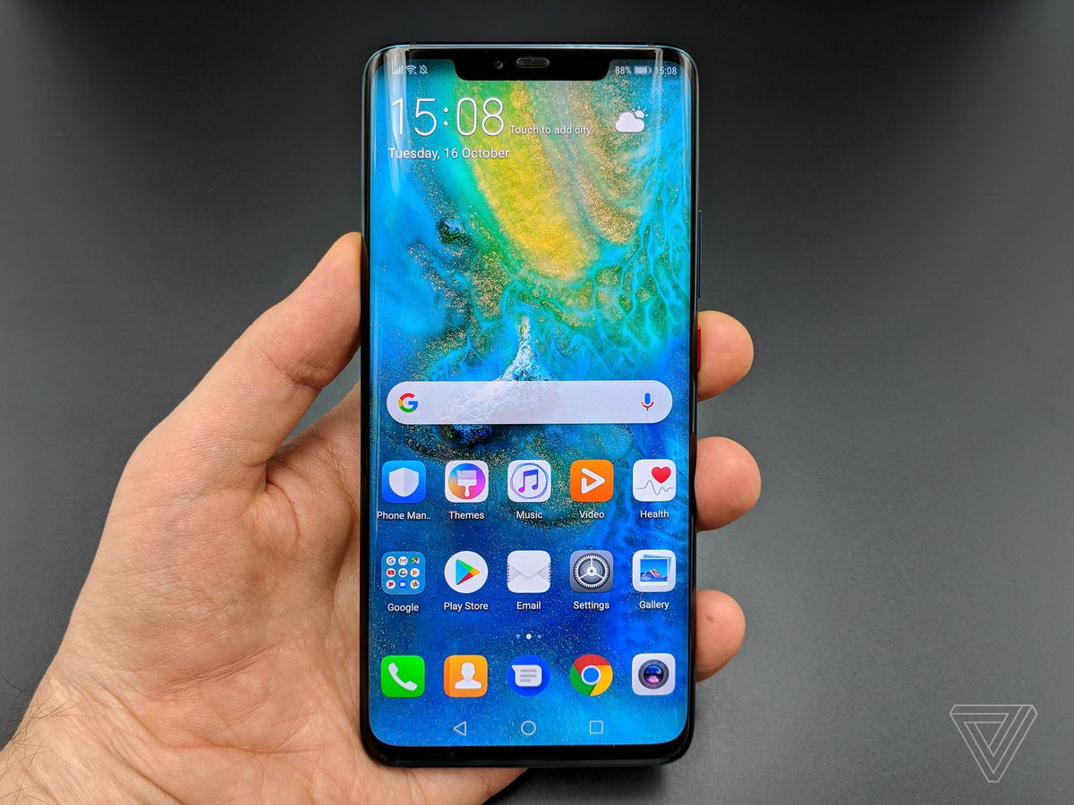 Techmeme: Huawei unveils Mate 20 Pro with 6 4-inch OLED