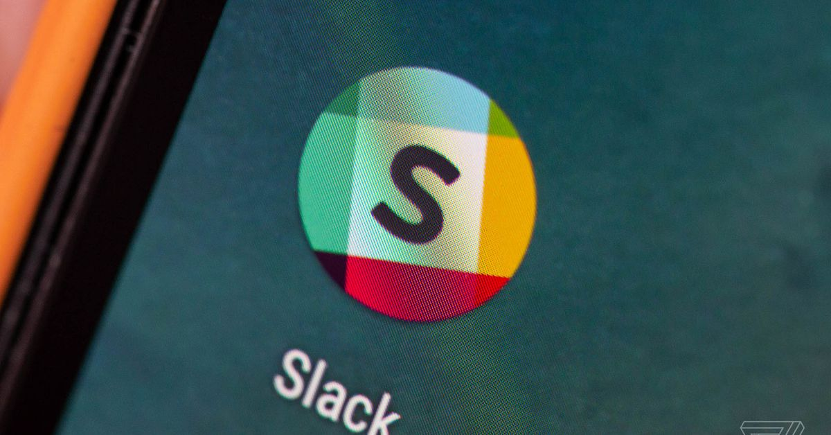 "Techmeme: Slack says it has removed 28 accounts for having a ""clear"
