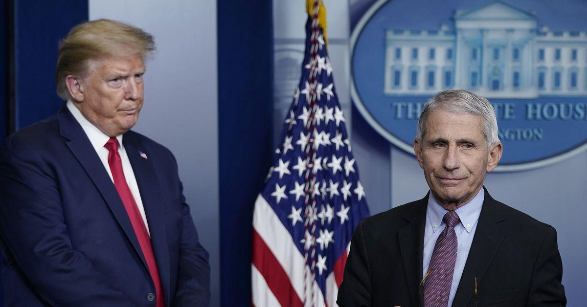 White House blocking Dr Anthony Fauci's testimony to House panel, spokesman says
