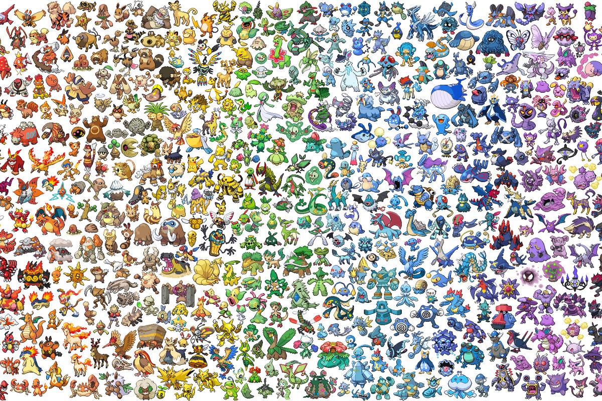 Fotos de todos los pokemon de teselia 70