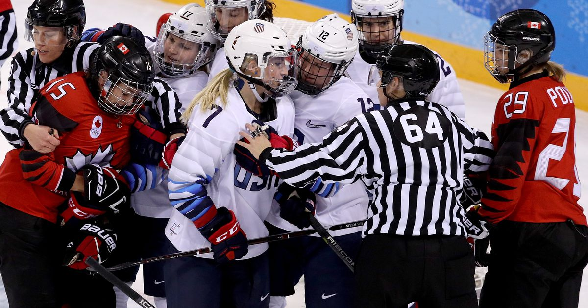How USA and Canada's women's hockey teams became the Olympics' best rivalry