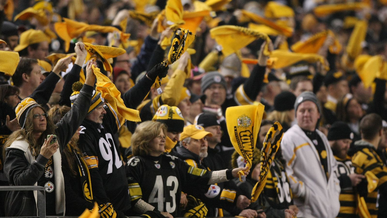 Pittsburgh steelers behind the steel curtain