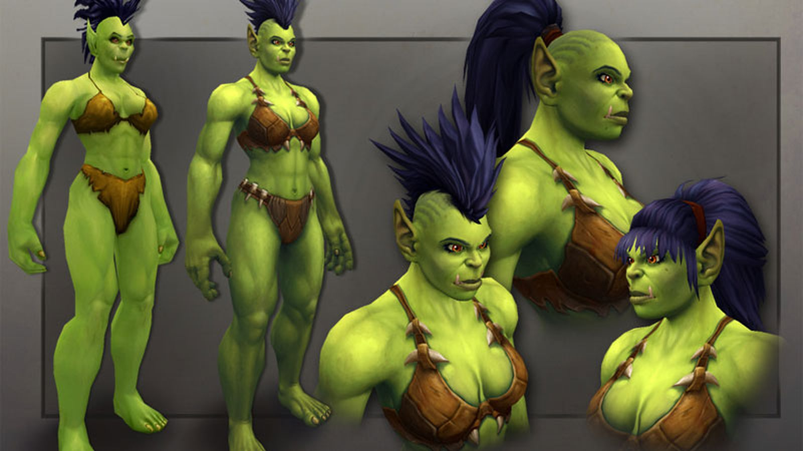 World of warcraft draenai and orc 3d  porncraft pic