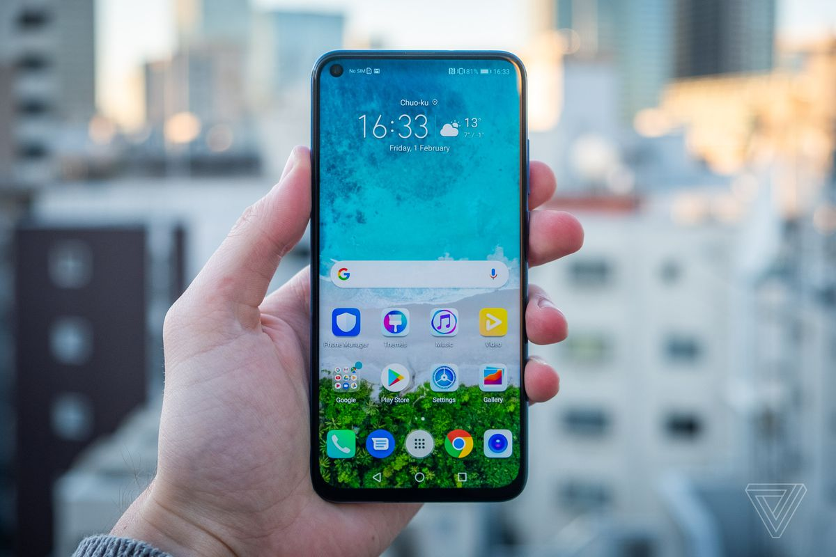Techmeme: Huawei Honor View 20 review: hole-punch display is