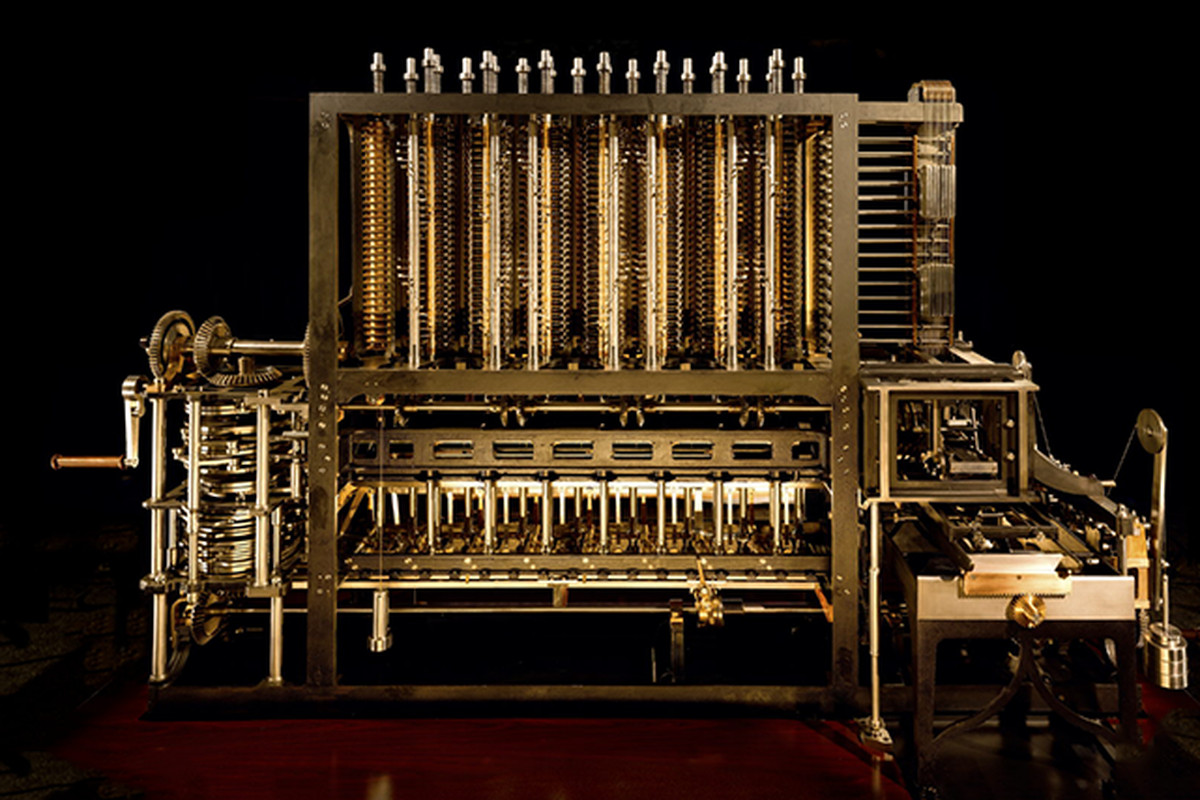 Doron Swade Charles Babbage and Difference Enginge No 2