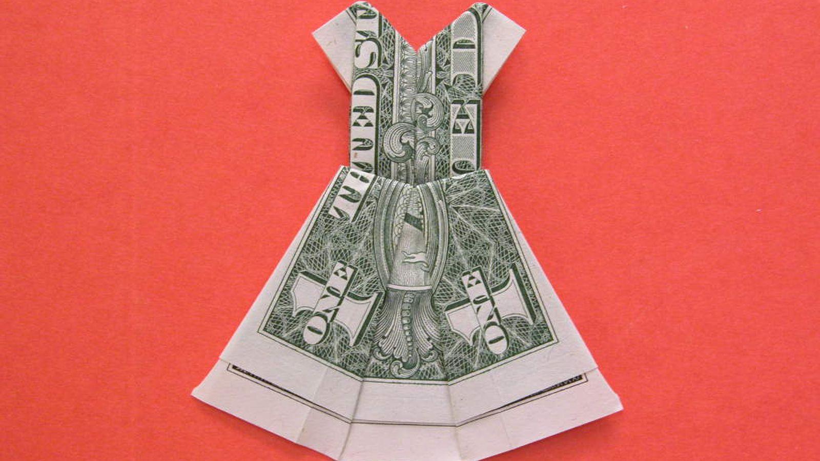 Оригами из денег своими руками схемы