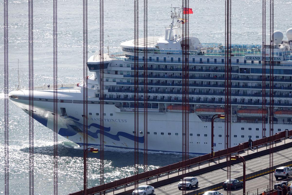 U.S.-SAN FRANCISCO-GRAND PRINCESS-CRUISE SHIP-COVID-19