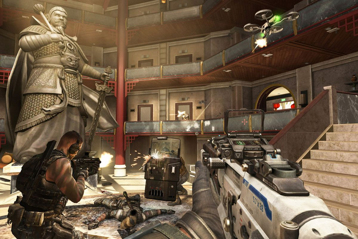 Hands On With Black Ops 2s Revolution Dlc Zombie High