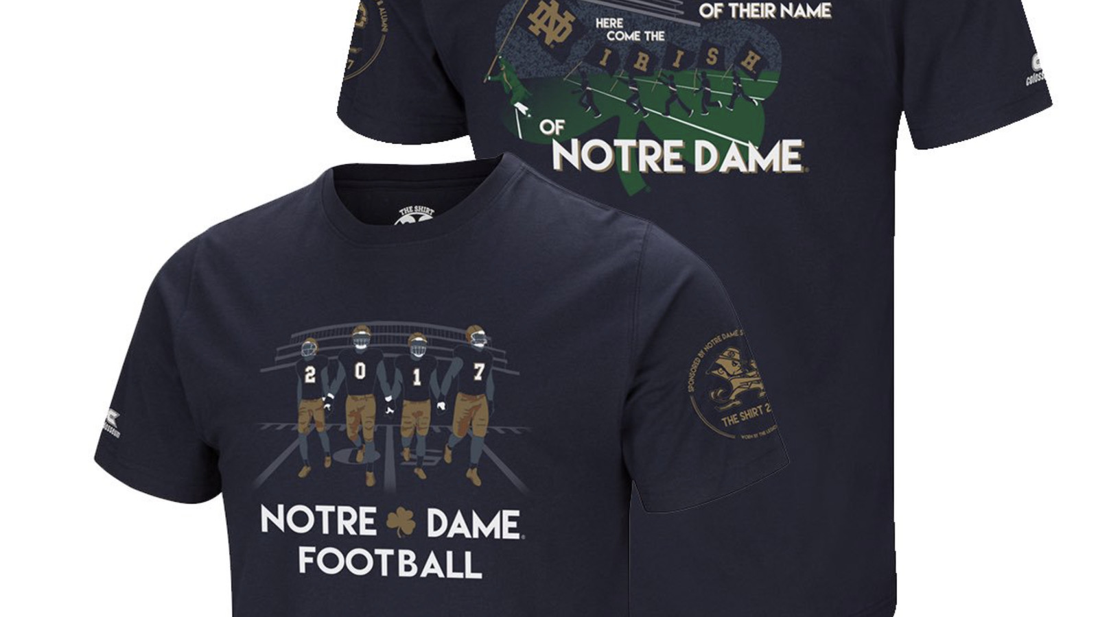 The Shirt 2012  Game Day  University of Notre Dame