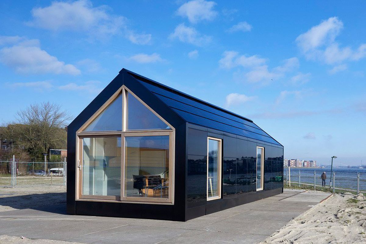 Prefab home concept is modular and solar-powered - Curbed