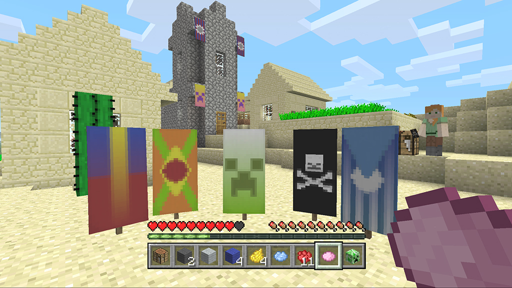 Minecraft Console Edition Gets Big Update Chinese