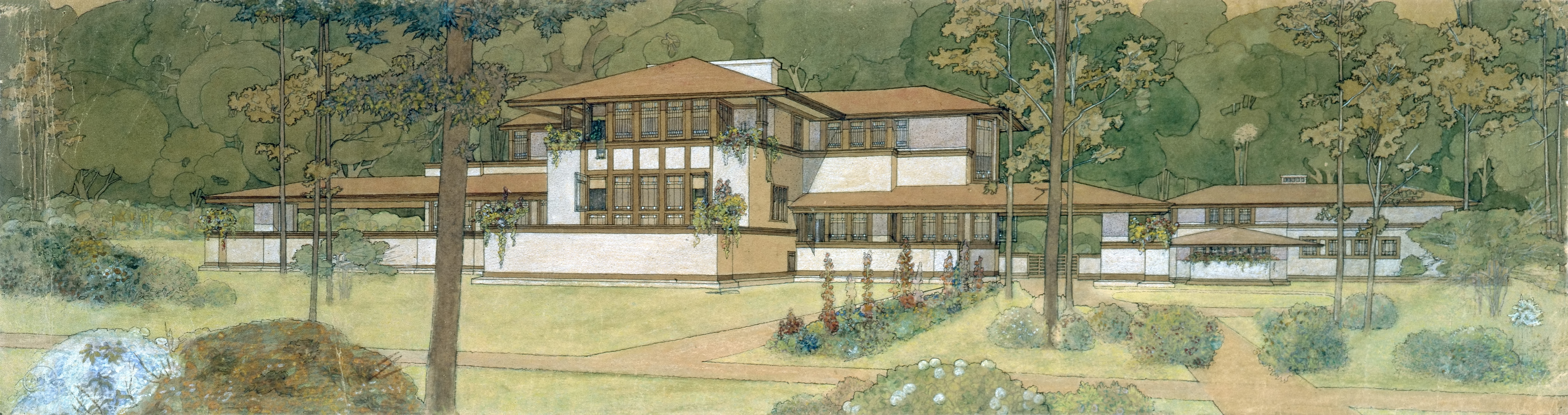 a summary of the philosophy of organic architecture by wright
