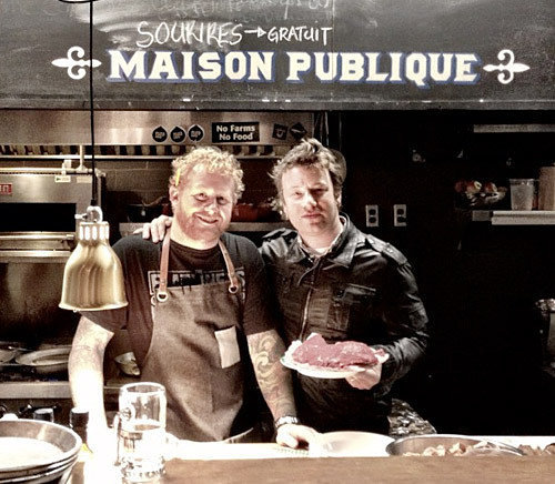 Jamie Oliver At Montreal S Maison Publique Now Open