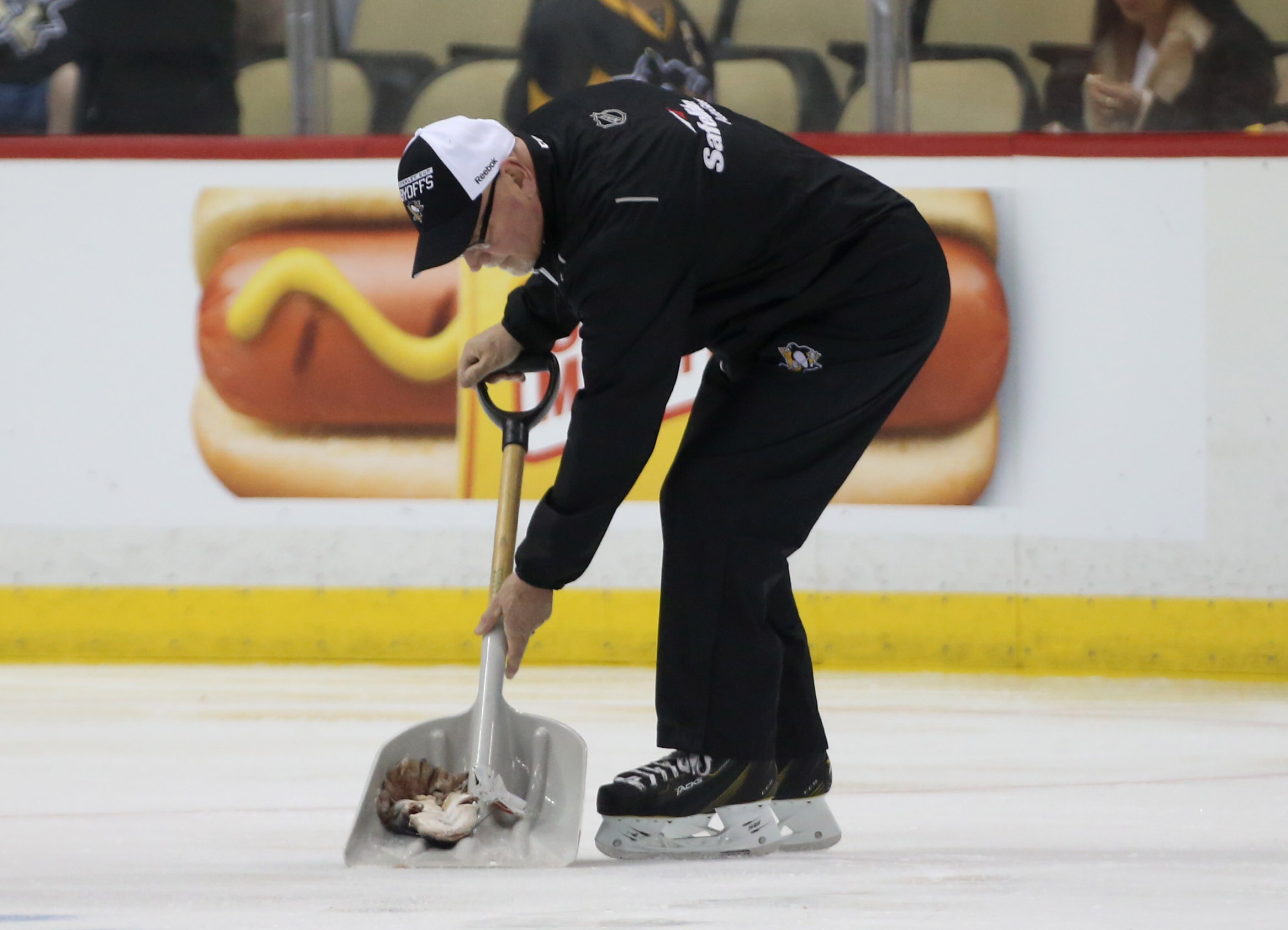 Throwing A Dead Catfish On The Ice In Pittsburgh Is Frowned Upon: Thrower Being Charged (video)