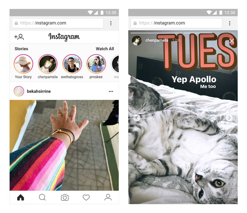 Techmeme: Instagram rolls out Stories to desktop and mobile