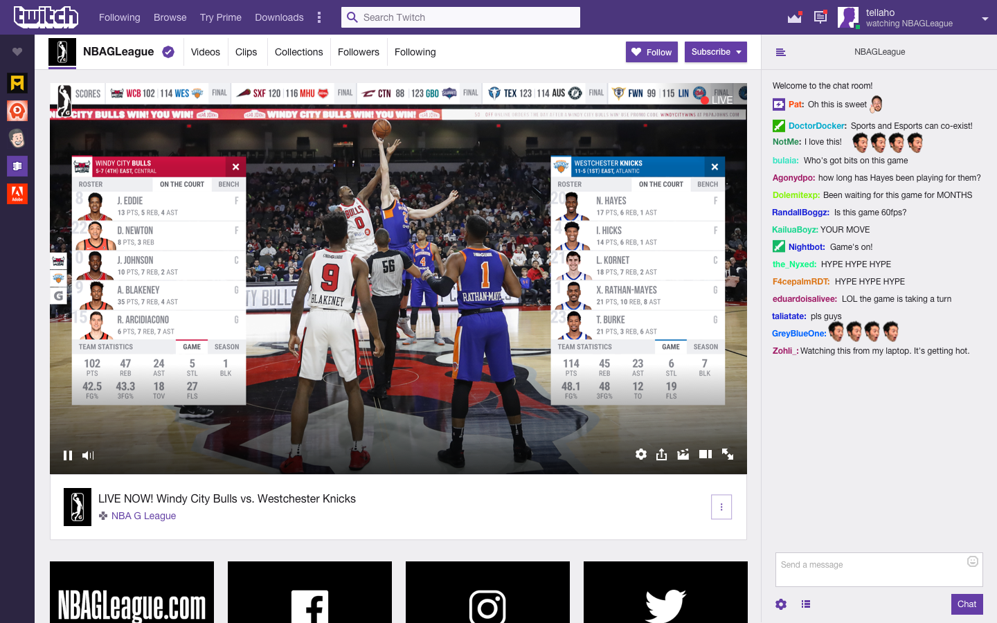 Techmeme: Twitch and NBA agree to stream up to six minor