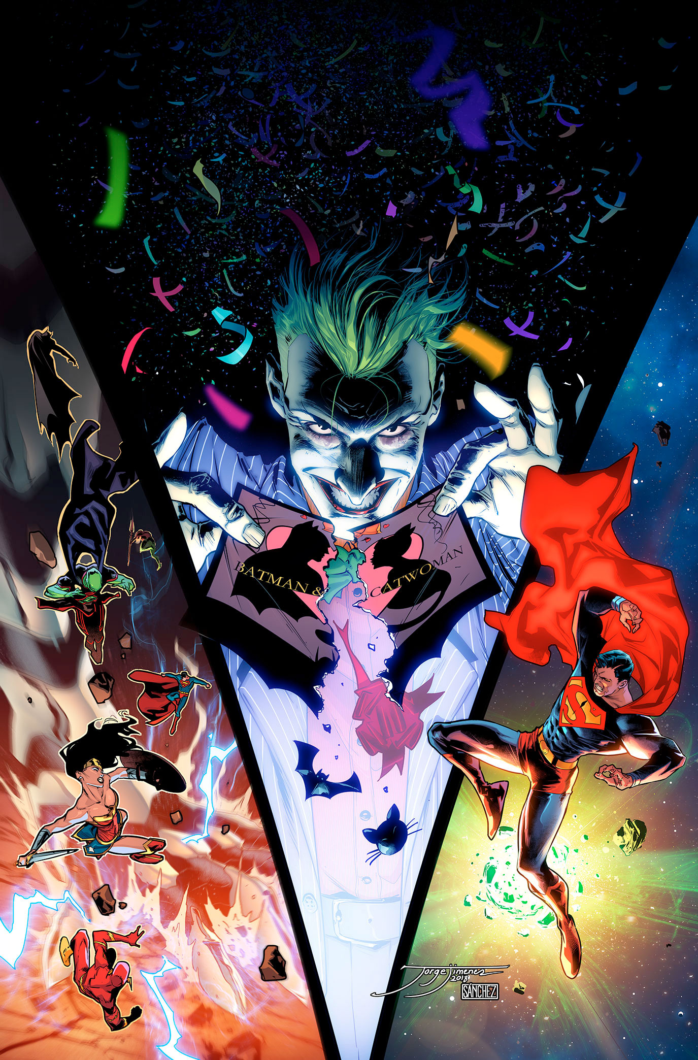 The cover of DC Nation #0