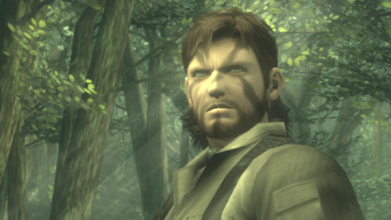 naked snake in metal gear solid 3