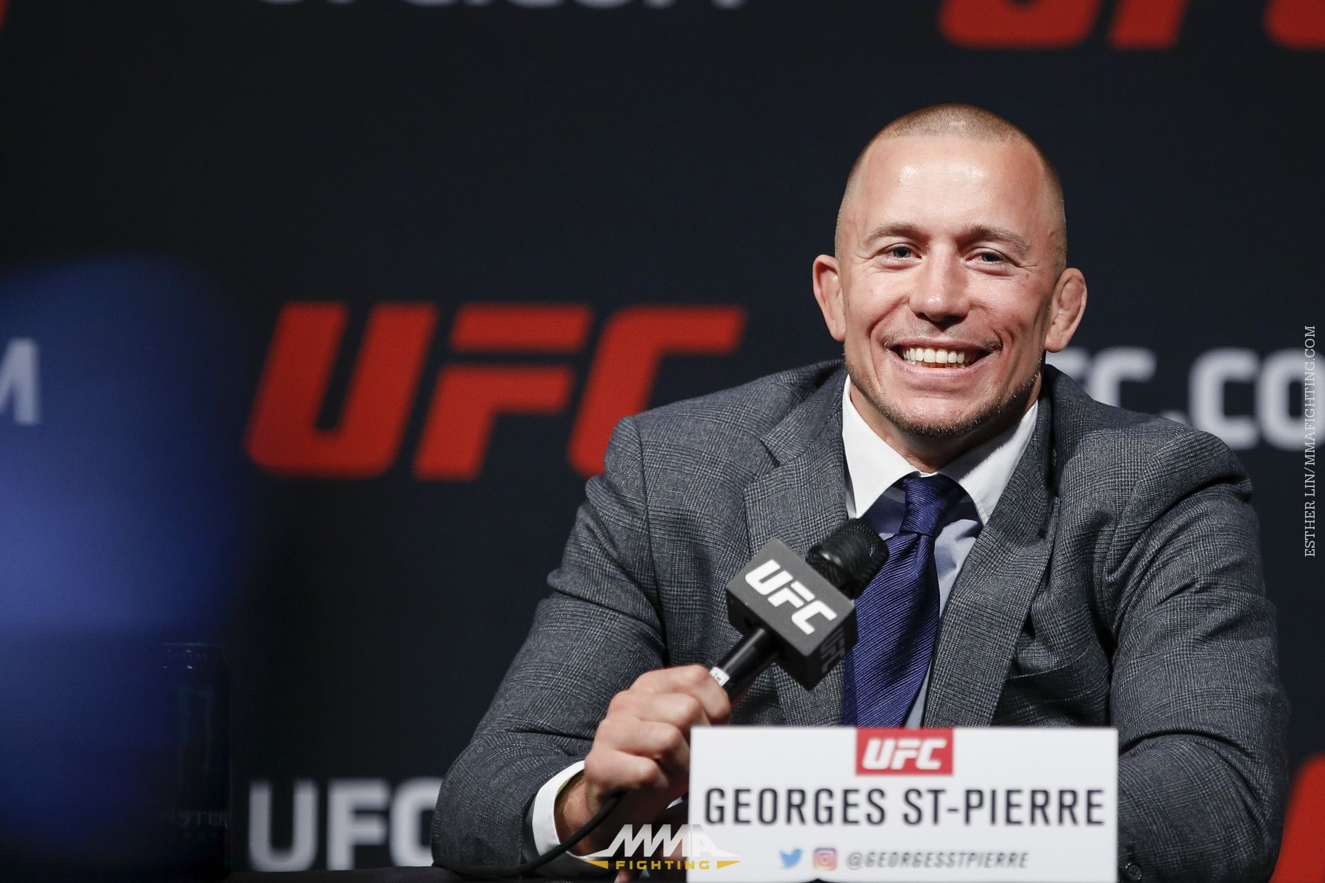 Michael Bisping vs Georges St-Pierre Press Conference