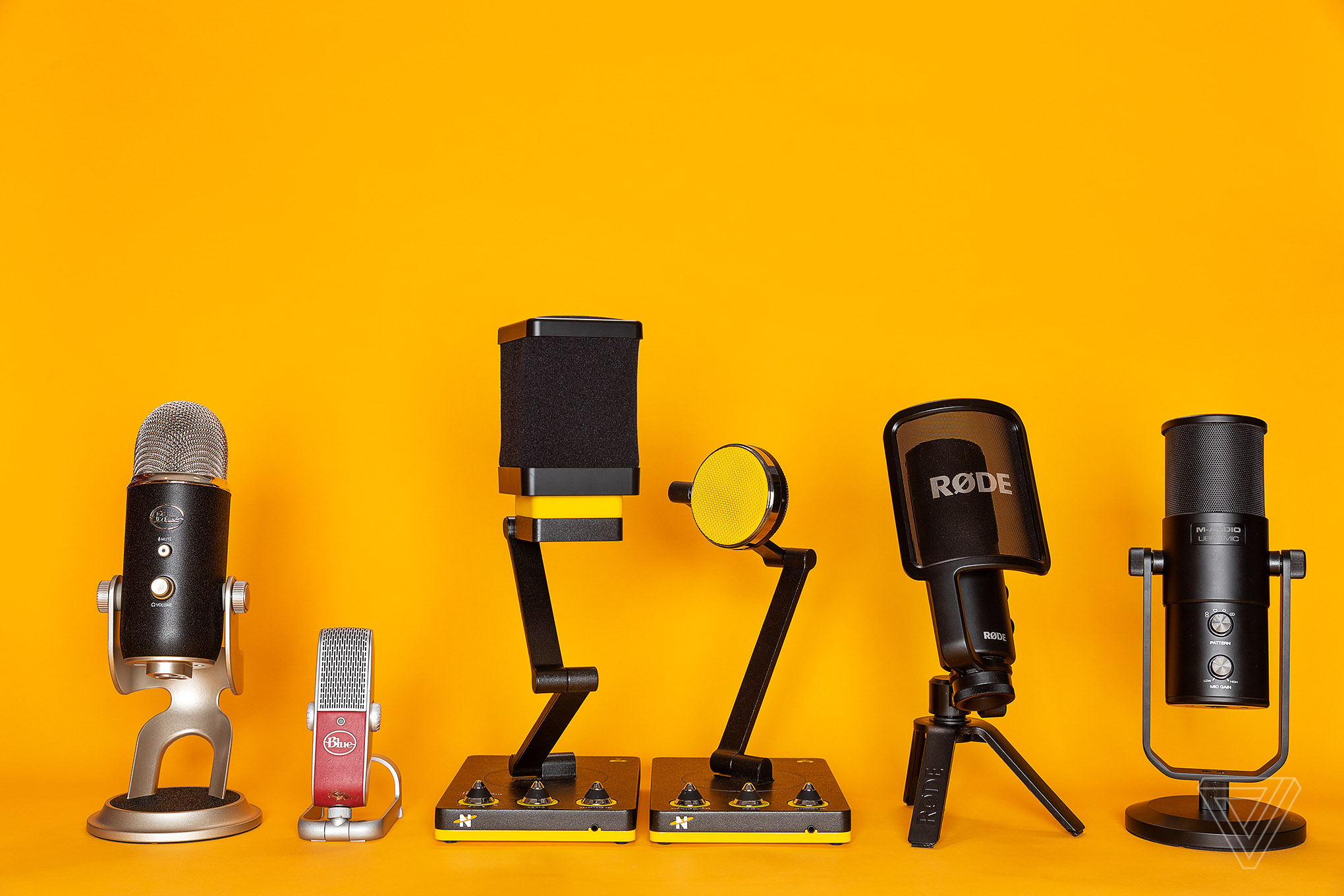 There is a wide range of microphones available for podcasters.