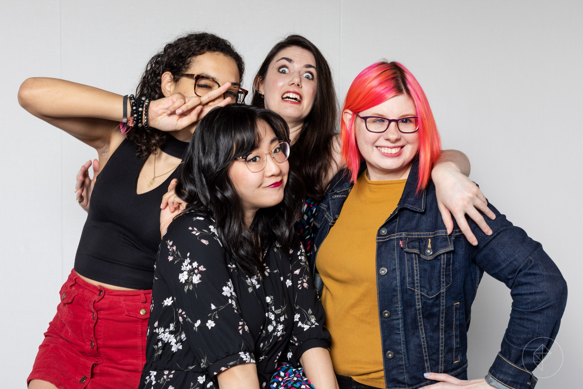 The Polygon Show co-hosts photo of Allegra, Ashley, Simone, Chelsea