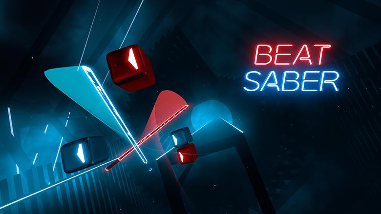 Beat Saber splash page