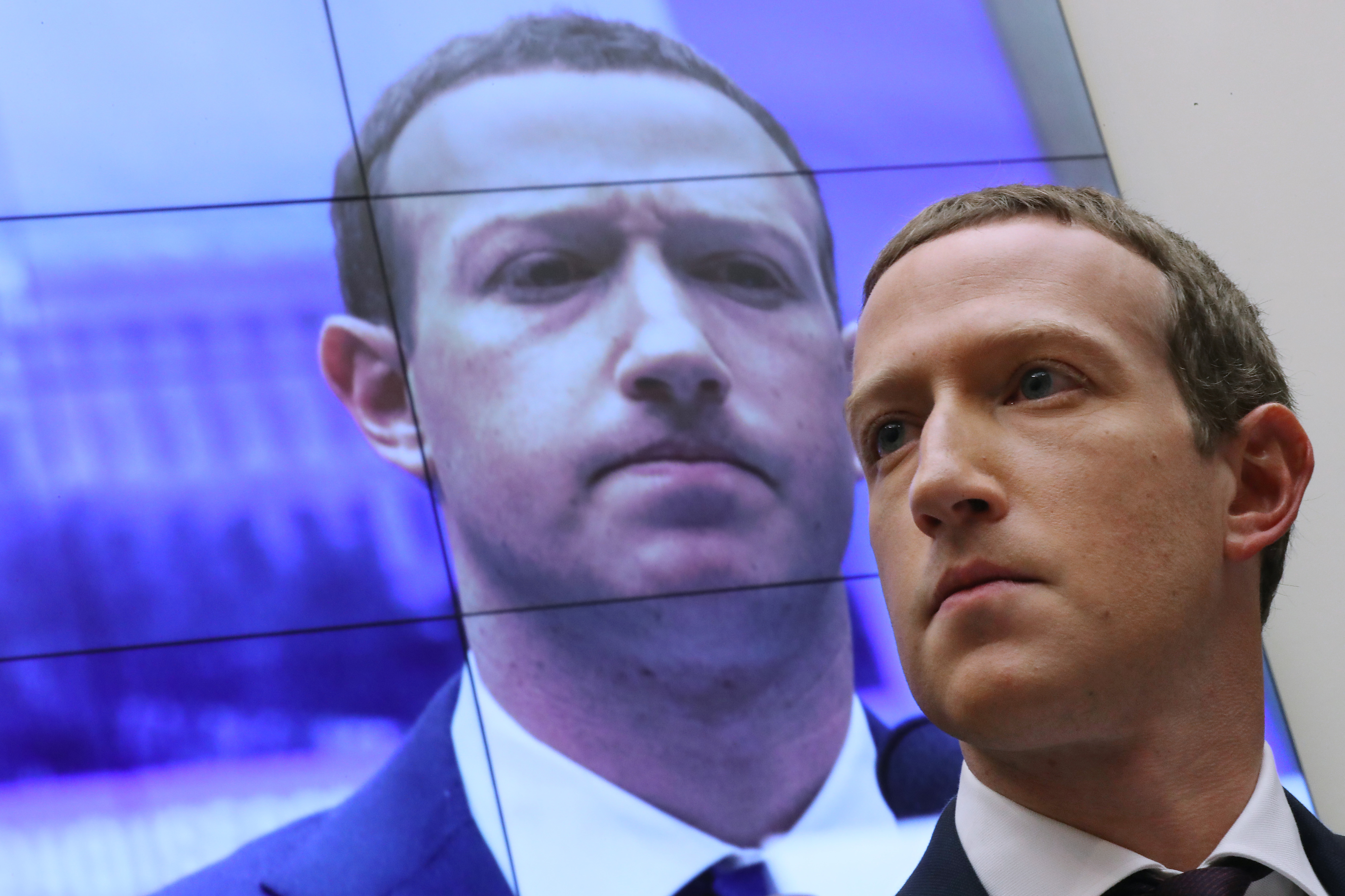 6D彩票网开户 CEO Mark Zuckerberg Testifies Before The House Financial Services Committee