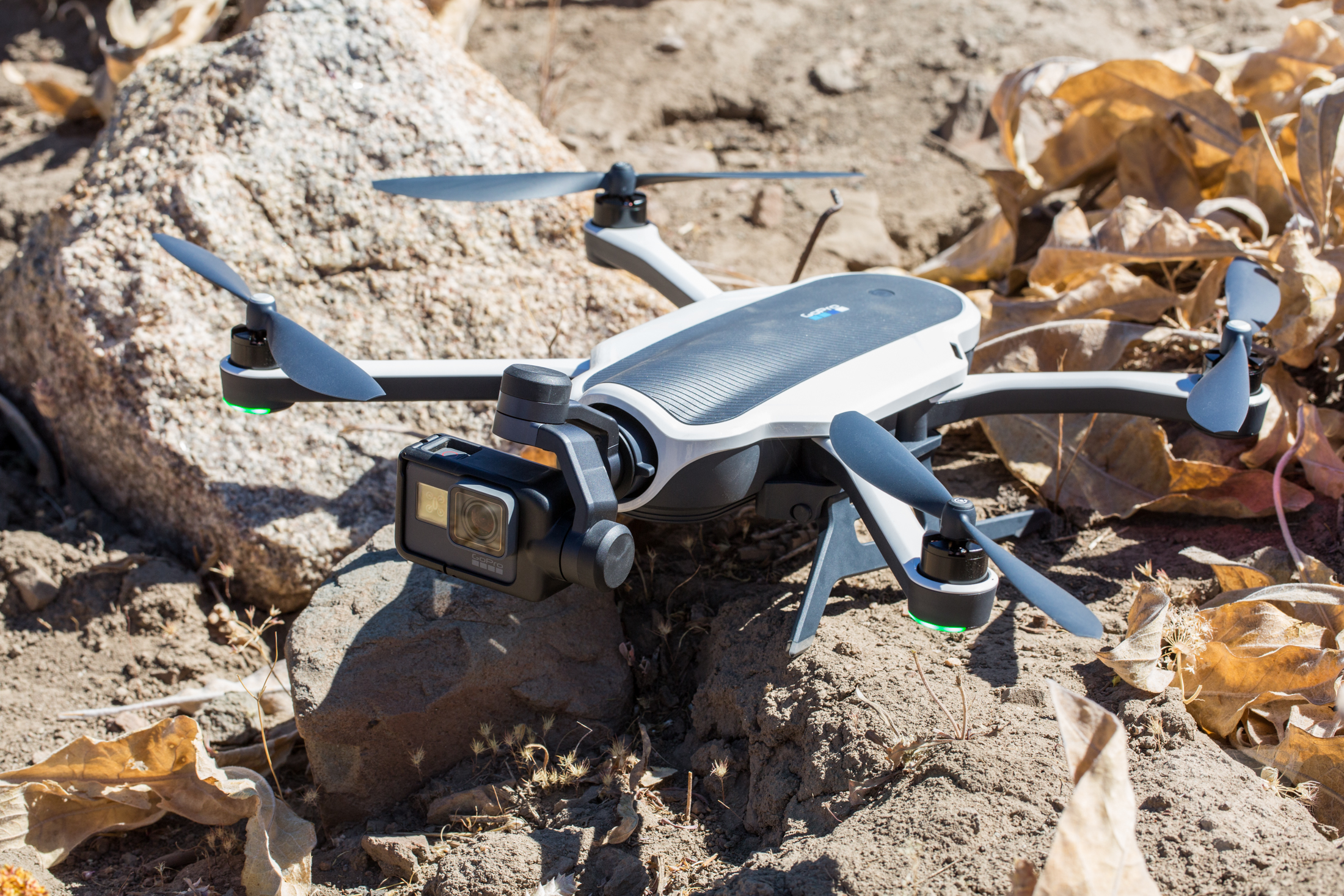 GoPro Karma and stabilizer grip in photos